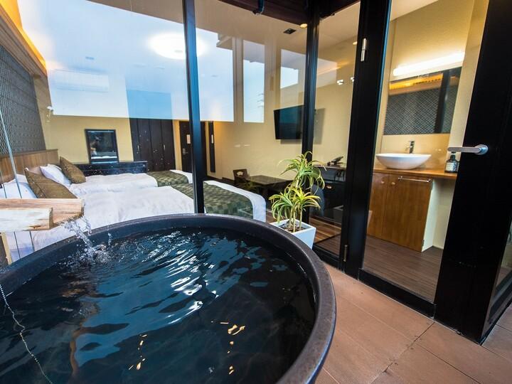 客室 岡山 付き 露天 風呂